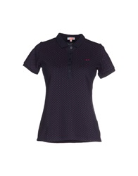 Sun 68 Polo Shirts Dark Blue