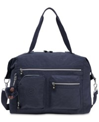 Kipling Carton Satchel True Blue Silver