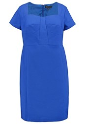 Eloquii Sophia Shift Dress Sapphire Blue