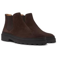 A.P.C. Marcus Suede Chelsea Boots Brown
