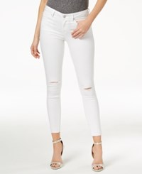 William Rast Skinny Ankle Length Jeans White