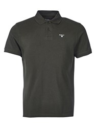 Barbour Sports Polo Top Forest