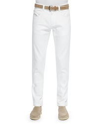 Loro Piana Five Pocket Denim Jeans White