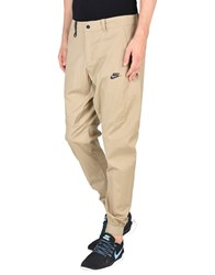Nike Trousers Casual Trousers Sand