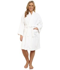 Lauren Ralph Lauren Plus Size Greenwich Robe White Women's Robe