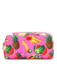 Dolce And Gabbana Printed Cosmetic Case Multicoloured
