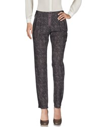 Emma And Gaia Casual Pants Dark Brown