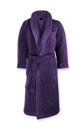 Ralph Lauren Home Langdon Bath Robe Lilac