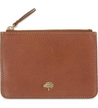 Mulberry Tree Leather Coin Pouch Oak