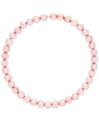 Honora Style Cultured Freshwater Pearl 9Mm Coil Choker Necklace Pink
