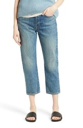 Vince Women's Union Slouch Crop Jeans