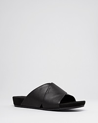 Eileen Fisher Flat Slide Sandals Hippie