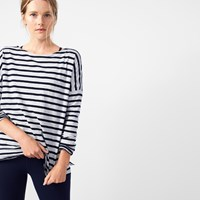 J.Crew Oversized Striped T Shirt