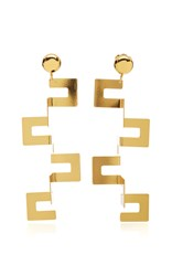 Paula Mendoza Yari Earrings Gold