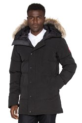 Canada Goose Carson Parka With Coyote Fur Trim Black
