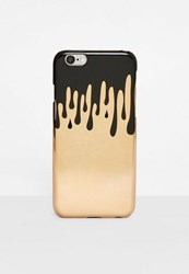 Missguided Gold Dripping I Phone 6 Case
