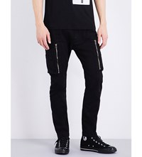 Helmut Lang Slim Fit Tapered Jeans Black