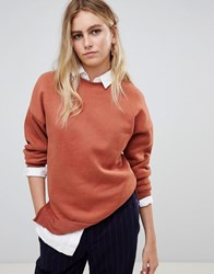 New Look Sweat Orange