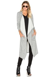 Sen Atlas Trench Cardigan Gray