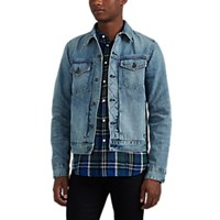 Rag And Bone Definitive Denim Trucker Jacket Blue