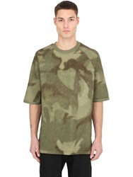Yeezy Heavy Cotton Jersey Camouflage T Shirt