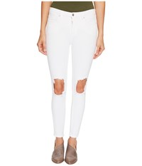 Free People Jeans Busted Skinny In White White Women's Jeans