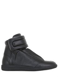 Maison Martin Margiela Strap Leather High Top Sneakers