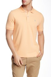 Tailorbyrd Solid Polo Orange