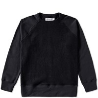 Mr. Completely Reverse Front Crew Sweat Black