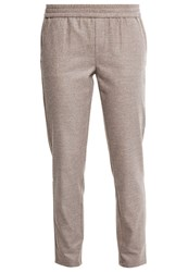 M A C Mac Amelie Easy Trousers Ginger Brown Light Brown