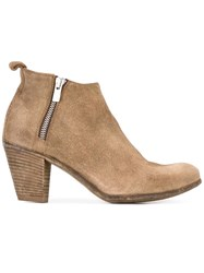 Officine Creative Plaisir Ankle Boots Nude Neutrals