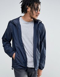 Esprit Light Weight Hooded Jacket Navy