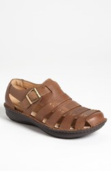 Men's Alegria 'Martinique' Sandal Brown Tumble