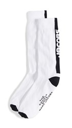 Marc Jacobs The Sports Socks White Multi