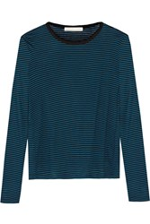 Kain Label Leila Striped Tencel Blend Top