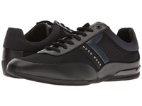 Hugo Boss Space Lace Up Sneaker By Green Black Men's Shoes