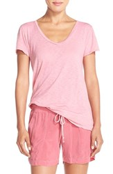 Women's Hard Tail Supima Cotton And Modal Tee Guava