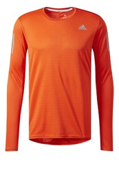 Adidas Performance Response Long Sleeved Top Energy Orange