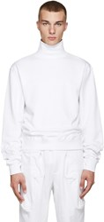 Perks And Mini White Activate Hi Neck Pullover