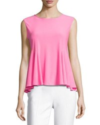 Cynthia Steffe Swing Knit Sleeveless Top Pink