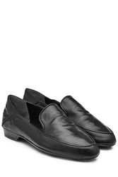 Robert Clergerie Leather Loafers Blue