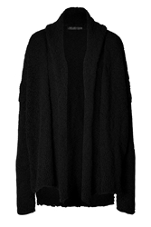 Donna Karan Wool Cashmere Shawl Collar Cardigan