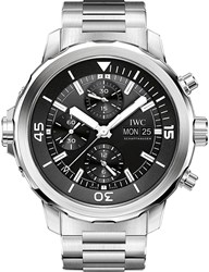 Iwc Iw376804 Aquatimer Stainless Steel Automatic Watch Silver