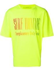 Ex Infinitas Surf Homme T Shirt Yellow