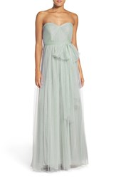 Jenny Yoo Women's 'Annabelle' Convertible Tulle Column Dress
