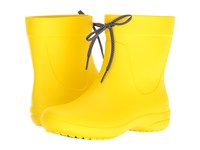 Crocs Freesail Shorty Rain Boot Lemon Women's Rain Boots Yellow
