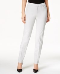 Charter Club Petite Slim Leg Pants Only At Macy's Mineral Ice