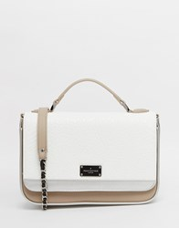 Pauls Boutique Nicole Cross Body Bag In Matt Metallic Brushedsilver