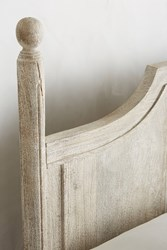 Anthropologie Washed Wood Bed Natural