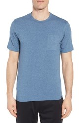 Tasc Performance Nantucket Fitted T Shirt Indigo Heather